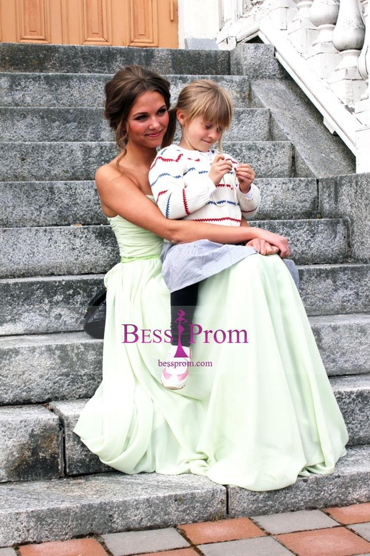 Mariage - belt selling fast chiffon color prom dress - bessprom.com