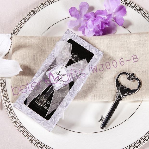 Wedding - Acheter 50 boîte clé à mon coeur décapsuleur WJ006 / B vaisselle, Table et vaisselle Sets de décapsuleur clés fiable fournisseurs sur Shanghai Beter Gifts Co., Ltd.
