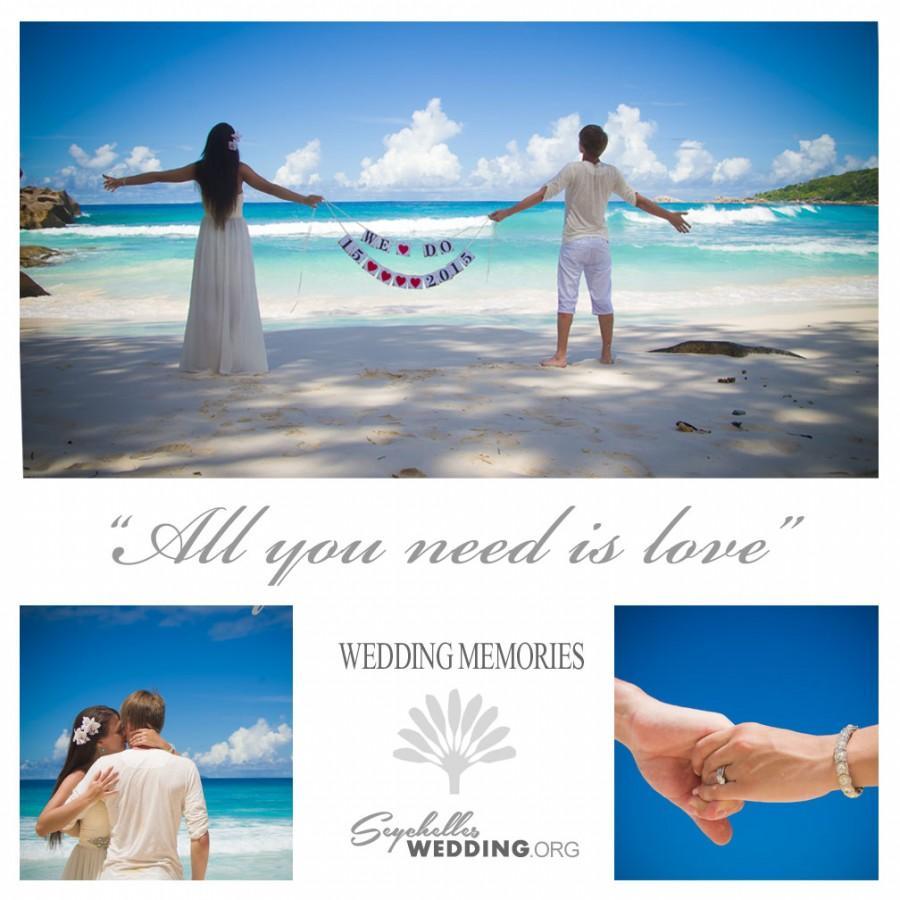 Mariage - Destination wedding on La Digue Island