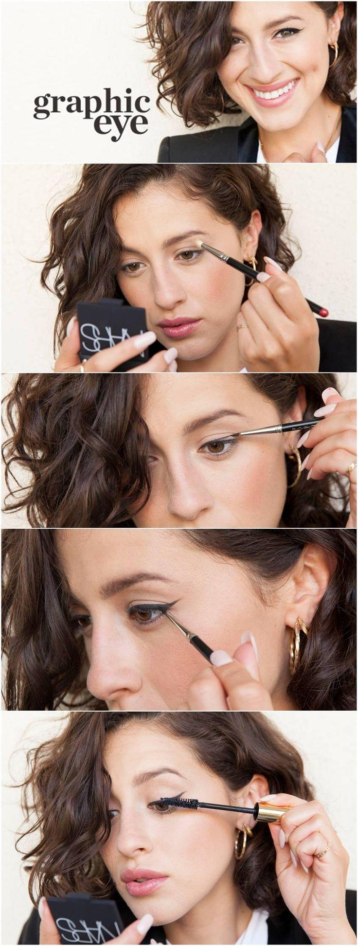 زفاف - Twitter / Beautifulskin: How To: Graphic Cat Eye ...