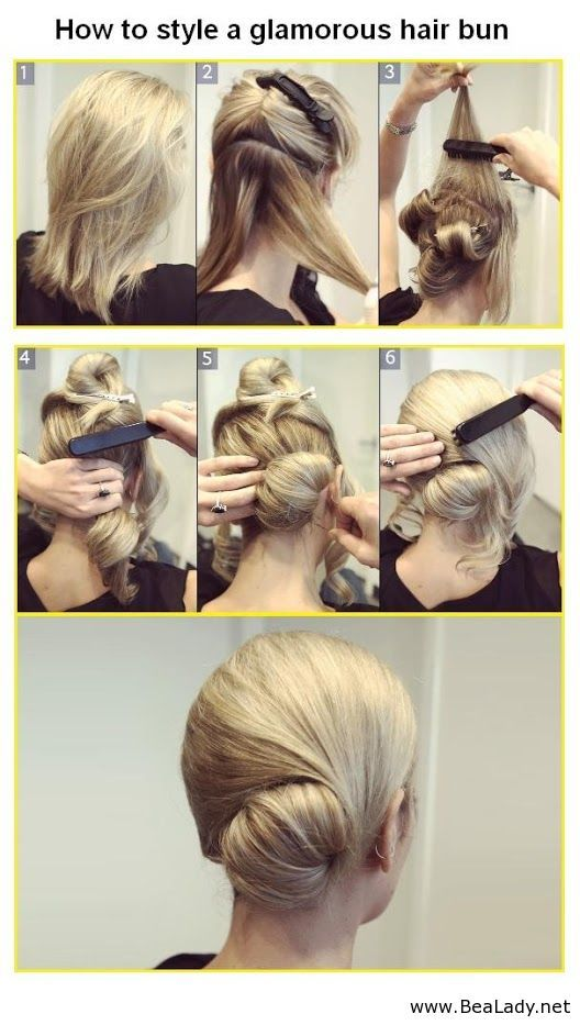 Sensational Hair Cute And Easy Updo Hairstyle Tutorials 2359349 Weddbook Hairstyles For Men Maxibearus