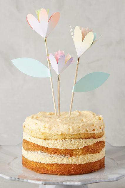 زفاف - Tulip Cake Toppers