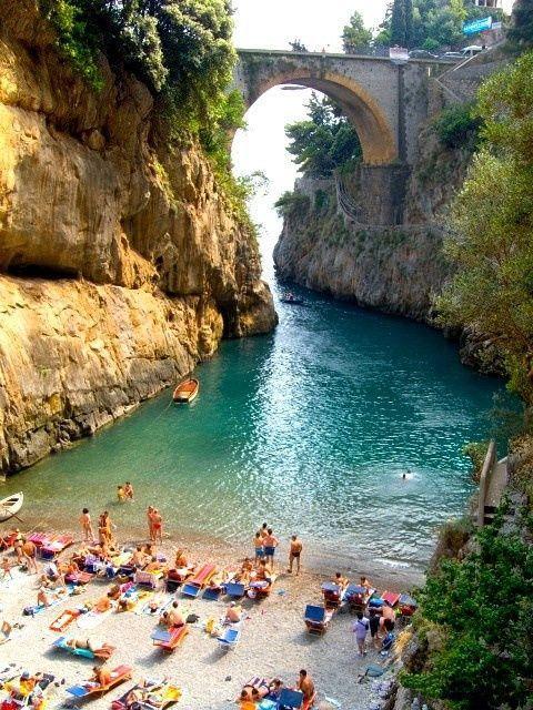 Hochzeit - Beautiful Beach, Furore, Amalfi Coast - Italy