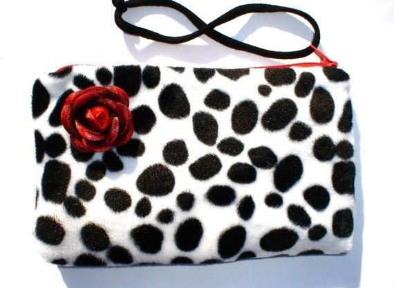 Wedding - Rockabilly Small Purse Pinup Purse / Great Brides Maid Gift
