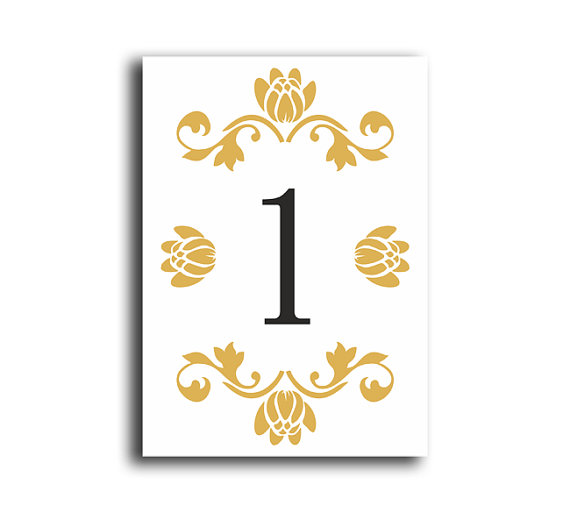 table numbers wedding table numbers printable table cards download