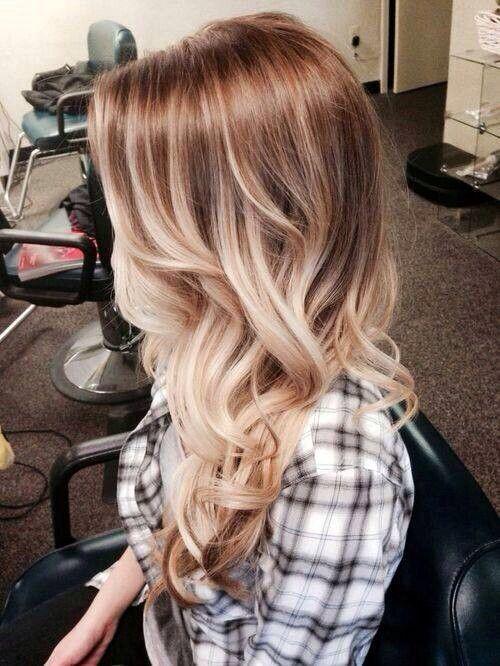 Der blonde Ombre Lob von Vanessa Hudgens