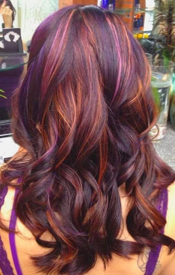 Red Violet Hair Color Omg Inspiring Ideas 2360054 Weddbook