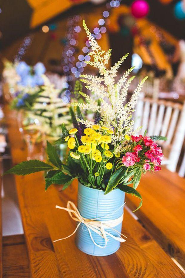 Wedding - Fun & Creative DIY Tin Can Wedding Ideas