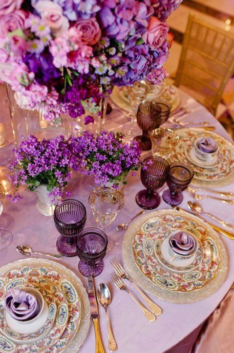 Свадьба - Tendencias 2014 Bodas Color Orquídea Radiante