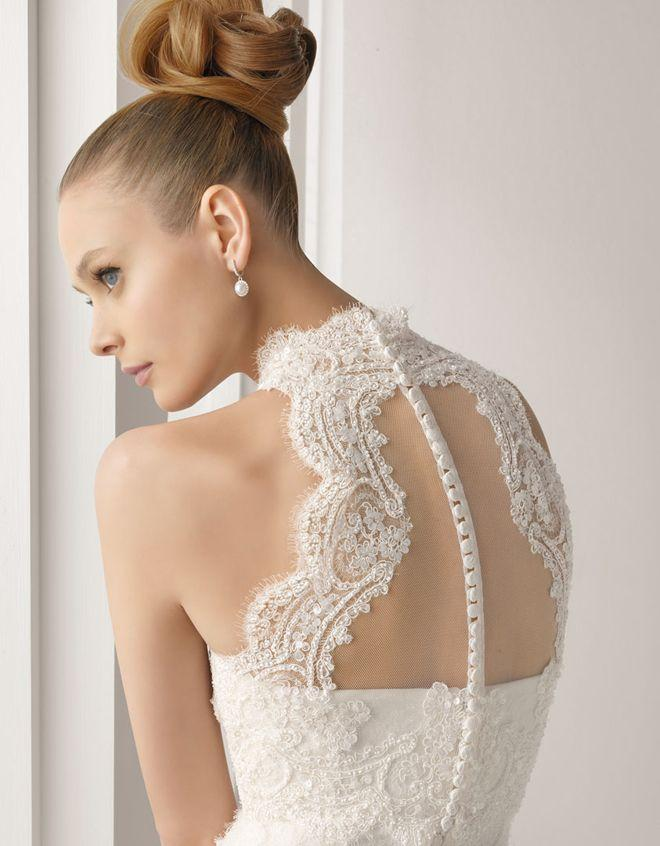 Свадьба - Lace Back Wedding Dresses - Part 4