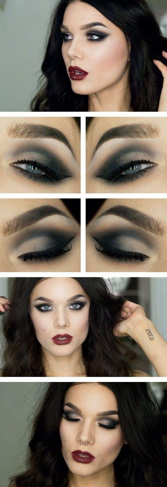 Свадьба - Best Sex Smokey Eye Makeup Tutorial