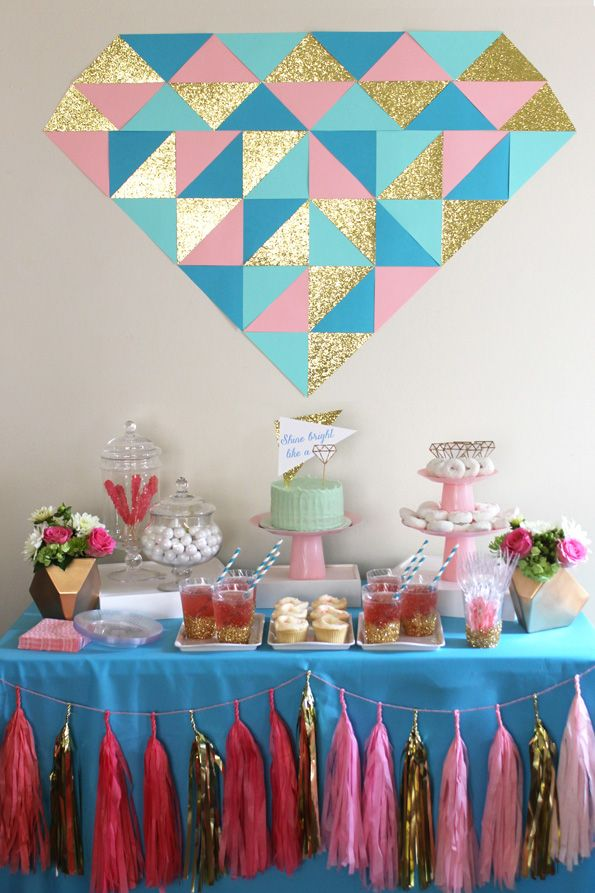 "Mariage - ""Shine Bright Like A Diamond"" Bridal Shower - Evite"