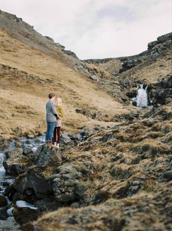 Mariage - Intimate Iceland Engagement