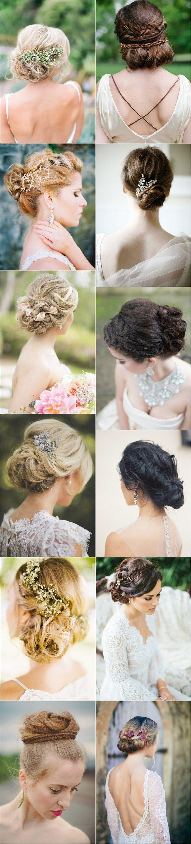 Hochzeit - 30 Fabulous Most Pinned Updos For Wedding (with Tutorial)
