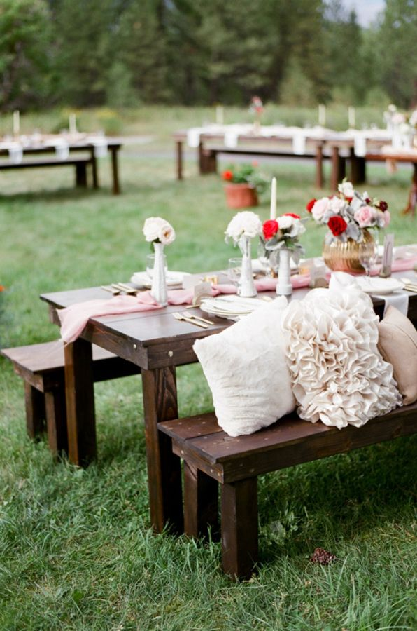Mariage - Romantic Al Fresco Montana Wedding