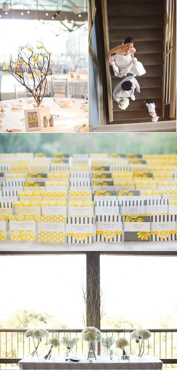 Wedding - Modern Austin Wedding By Table4Photography