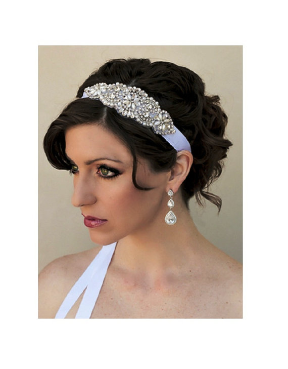Rhinestone Wedding Headband 7d9d53567db