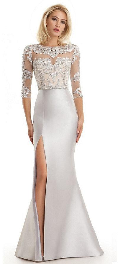 b3d41d91 Lasting Moments Beaded Lace Bodice Gown #2360974 - Weddbook