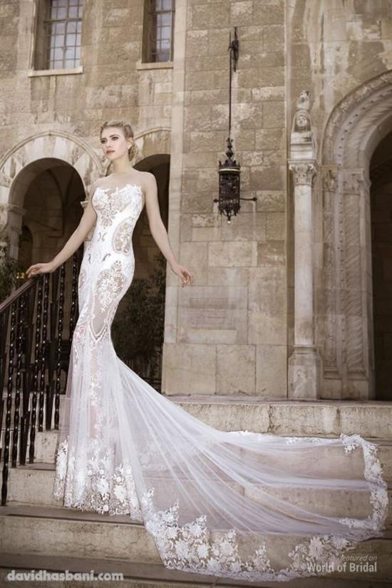 Свадьба - David Hasbani 2015 Wedding Dresses