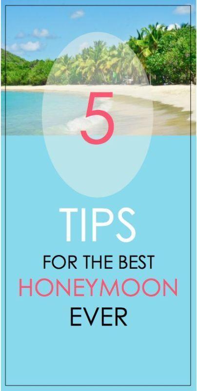Свадьба - 5 Honeymoon Tips