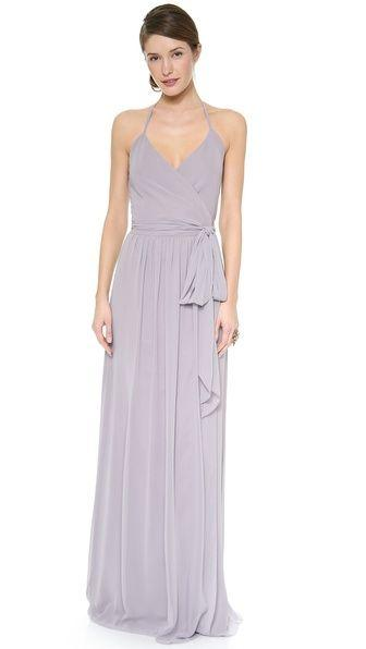 Wedding - DC Halter Wrap Dress
