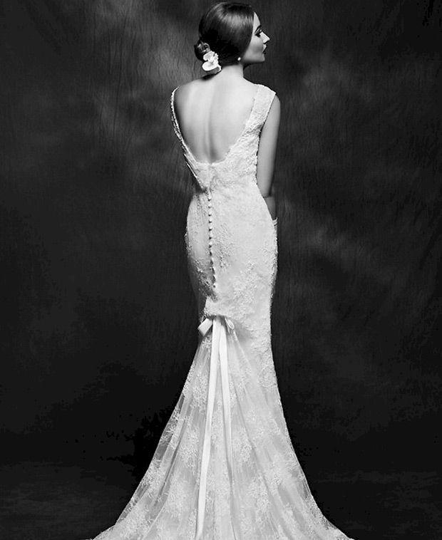 Hochzeit - Inspired By The Golden Era Of Hollywood: Lusan Mandongus For 2015