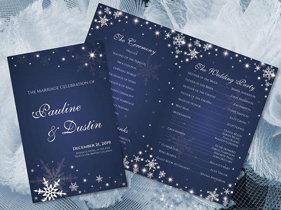 diy printable wedding program template 2362228 weddbook
