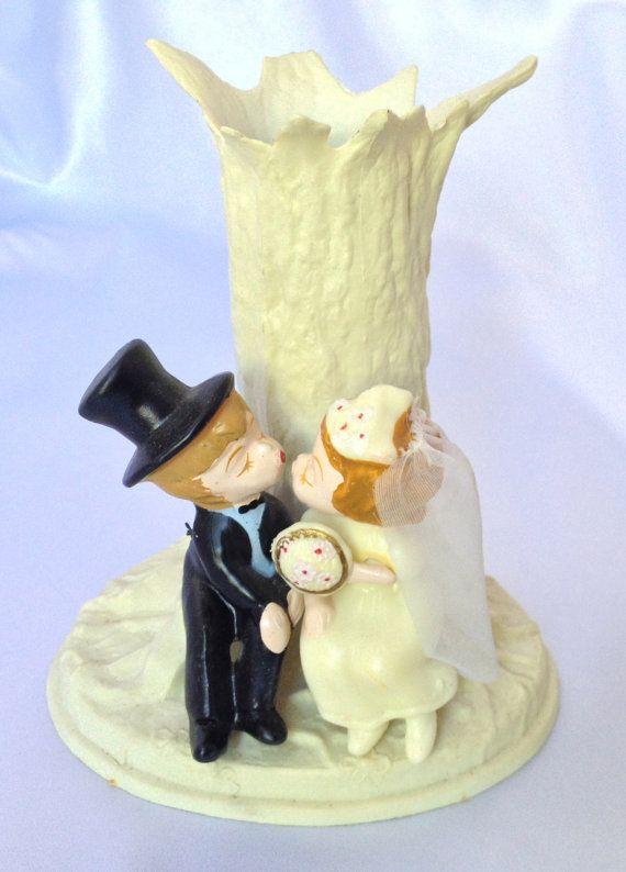 Vintage Wilton 1970s Plastic Wedding Cake Topper #2362234 - Weddbook