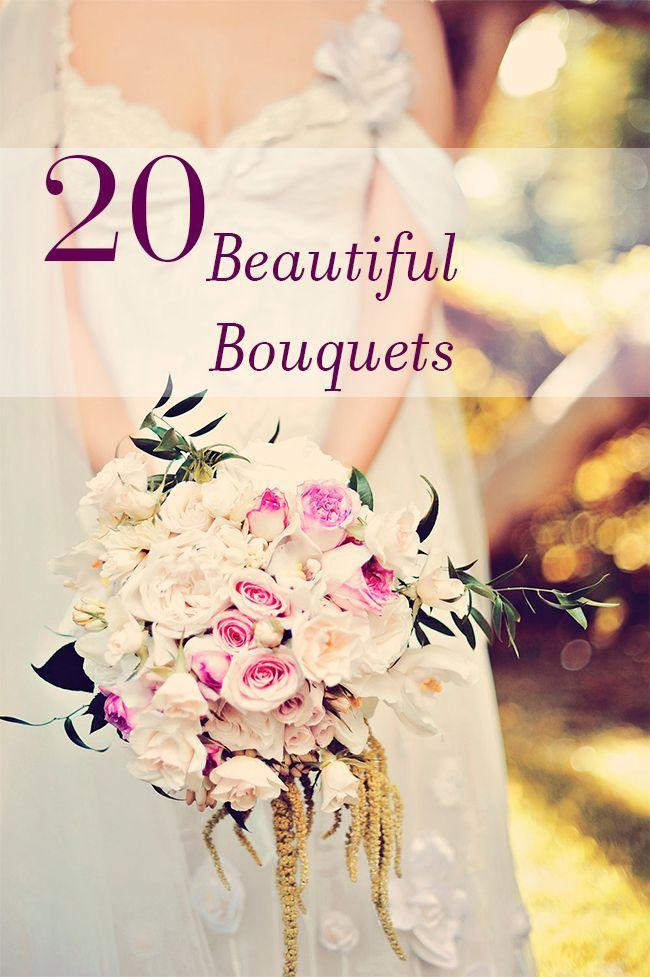 Свадьба - 20 Beautiful Bouquets
