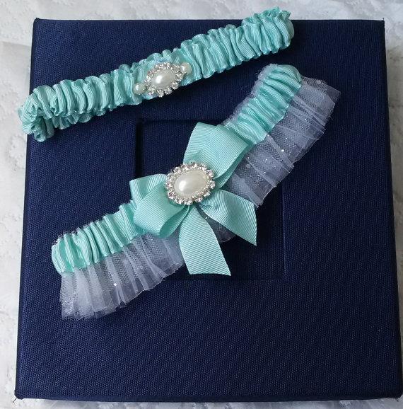 زفاف - Wedding leg garter, Wedding Leg Belt, Rustic Wedding Garter Set, Bridal Garter , İvory tulle, Ribbon Garters, Wedding Accessory