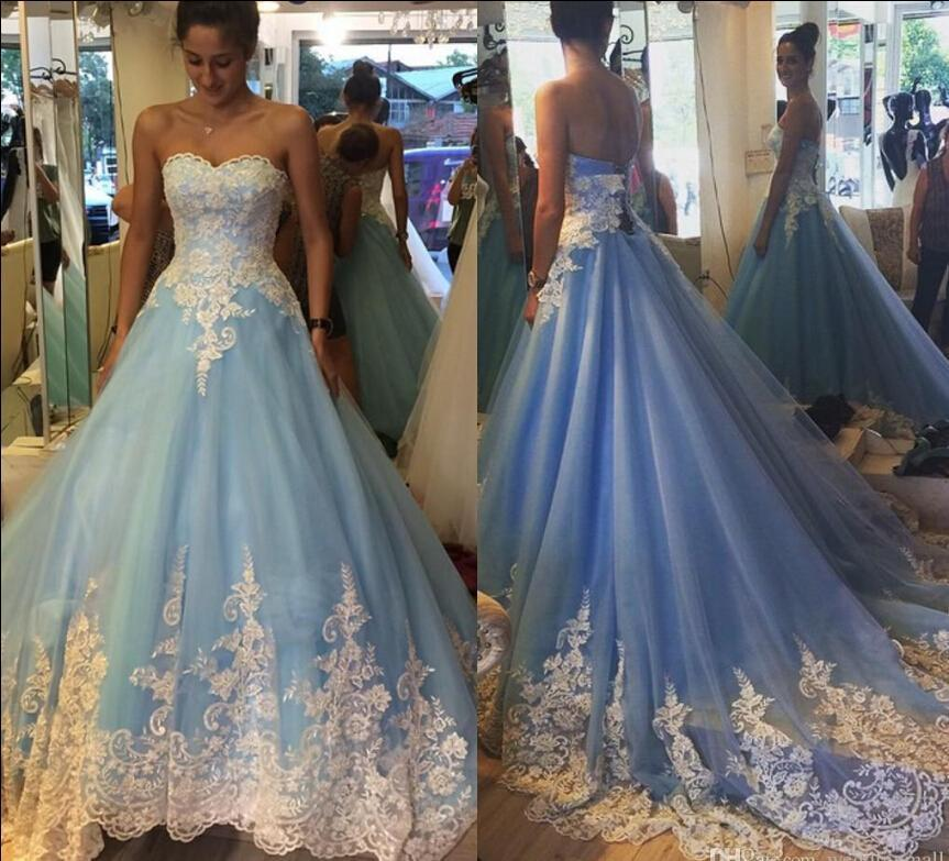 Colorful Wedding Dresses: Custom Made 2016 Lace Colorful Arabic Wedding Dresses