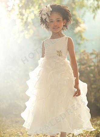 Свадьба - Alfred Angelo Disney Blossoms Flower Girl Dresses Style 705