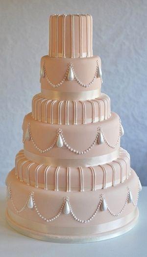 Свадьба - Over 25 Beautiful Pink Wedding Cake Ideas