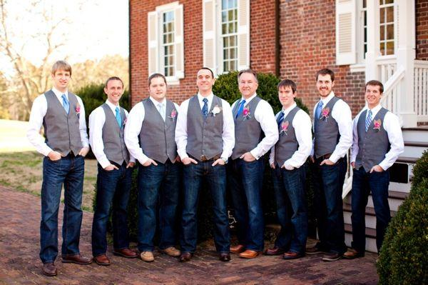 Свадьба - Hot Pink Country Cowboy DIY Wedding From Katelyn James Photography