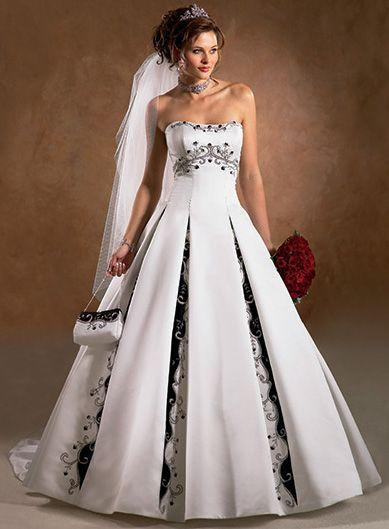 Mariage - Wedding Dresses With Color Trim - Jorma Wedding Dresses Factory