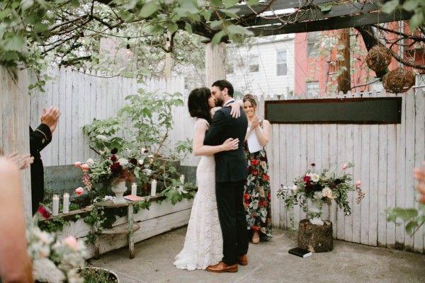 Hochzeit - Outdoor Brooklyn Wedding At The Pines