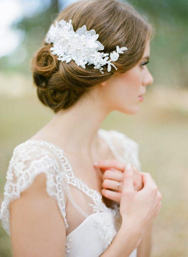 Mariage - LUCILLE Lace Hair Comb
