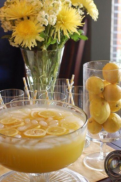Wedding - Pineapple Lemonade Punch