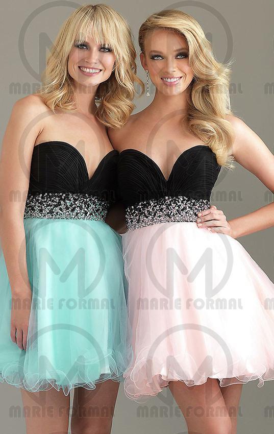 Wedding - BEAUTIFUL SHORT/MINI PINK COCKTAIL FORMAL DRESS