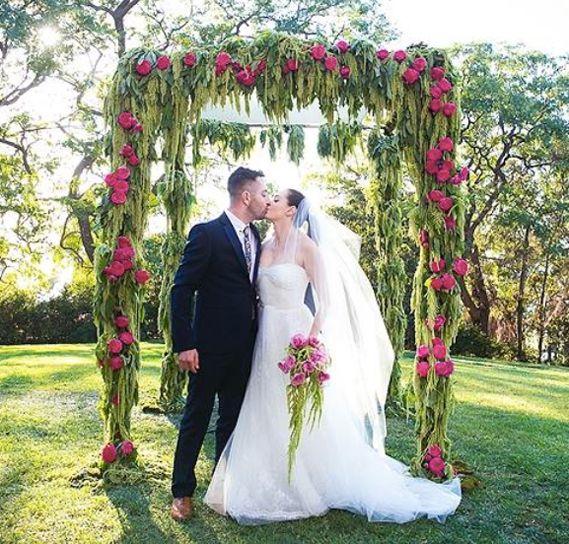 Wedding - Rose McGowan Wedding Details