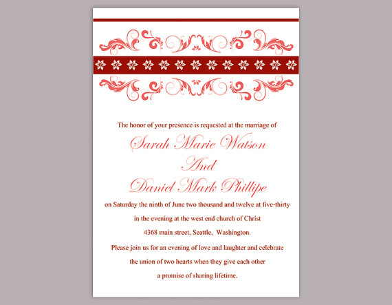 wine invitations template