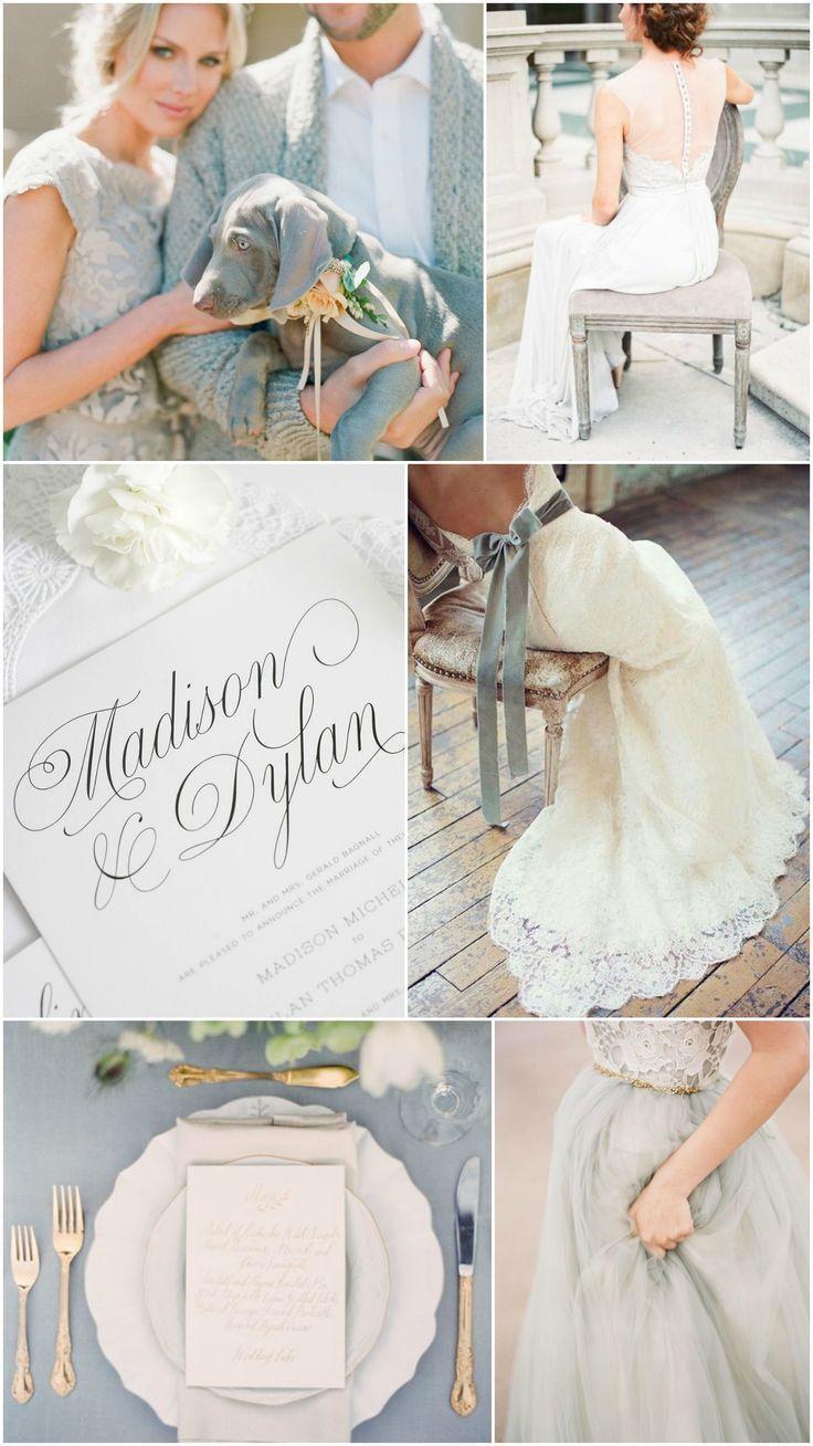 زفاف - Gorgeous Gray Wedding Inspiration