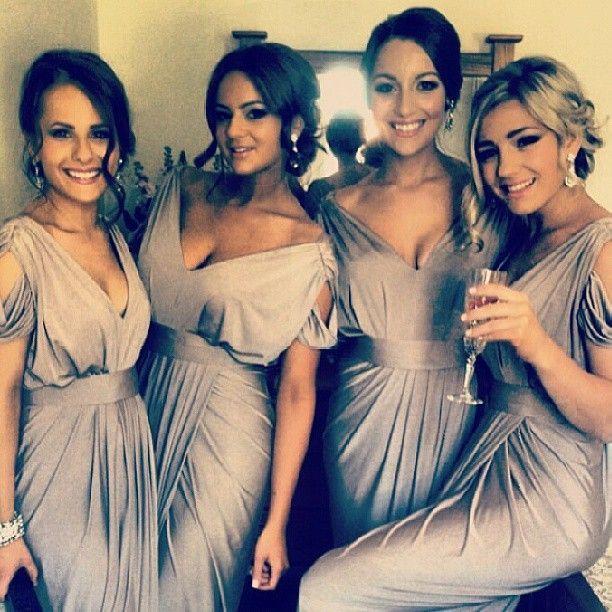 Wedding - Gorgeous Gray Bridesmaid Dresses