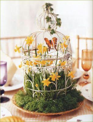 Craft 15 Interesting Ideas To Display Bird Cages 2363420 Weddbook