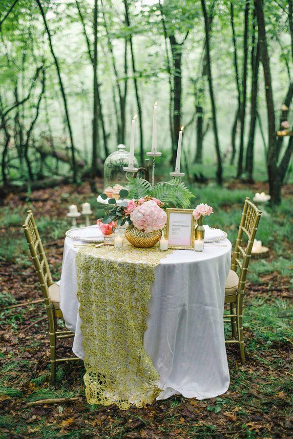Свадьба - Forest Wedding Inspiration