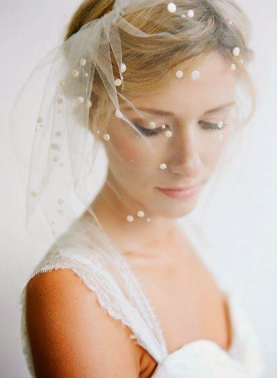 Wedding - 10 Pretty Perfect Polka Dot Veils