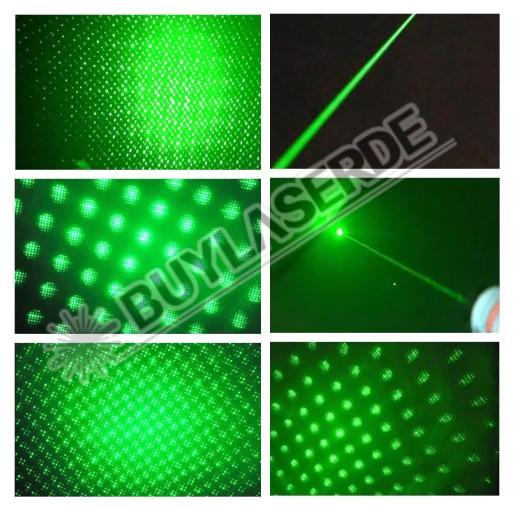 Mariage - Visuelle Effekte von Sternenlicht Laserpointer 100mW Grün