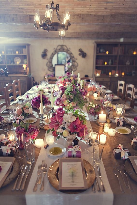 Düğün - 10 Ways To Throw An Incredible Dinner Party Reception