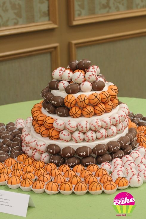 Perusing Pinterest: March Madness Treats And Ideas