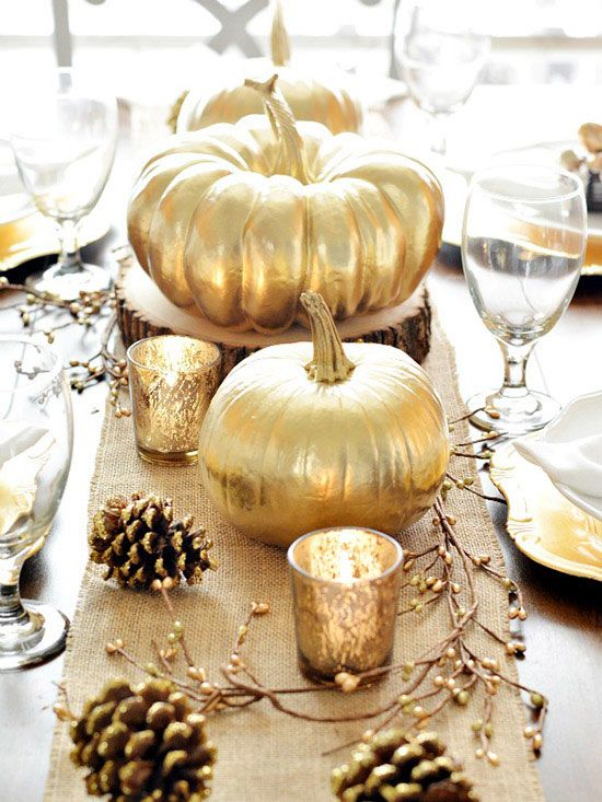 Charmant Beautiful Thanksgiving Centerpiece Ideas For Your Table Display